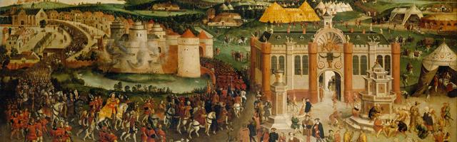 Le Figaro – François I<sup>er</sup> et Henri VIII au camp du Drap d'Or […]