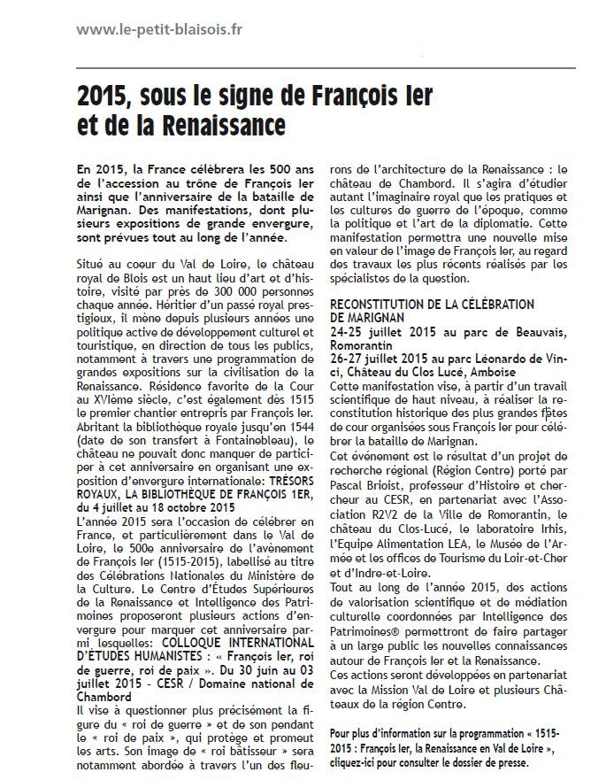 LePetitBlaisois-FrancoisIer1